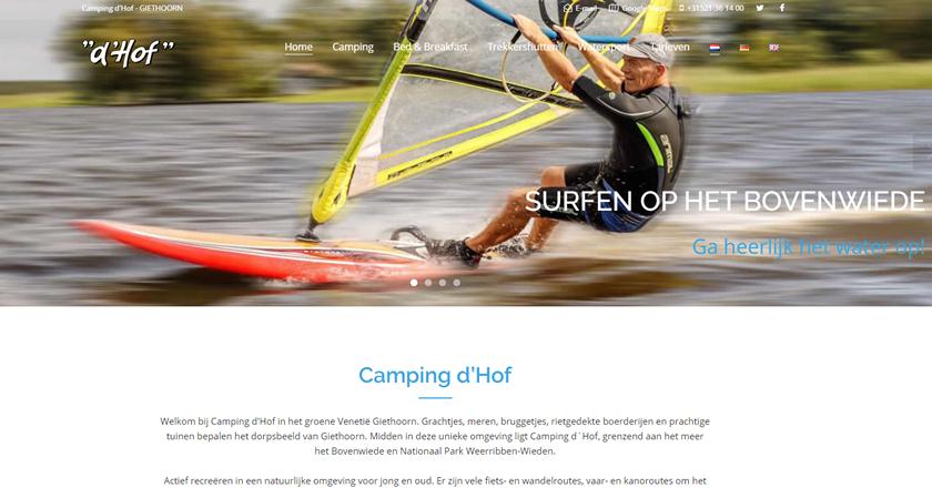 camping 'hof